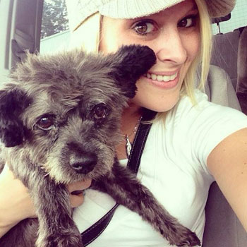 Woman adopts dog terminal and create a bucket list